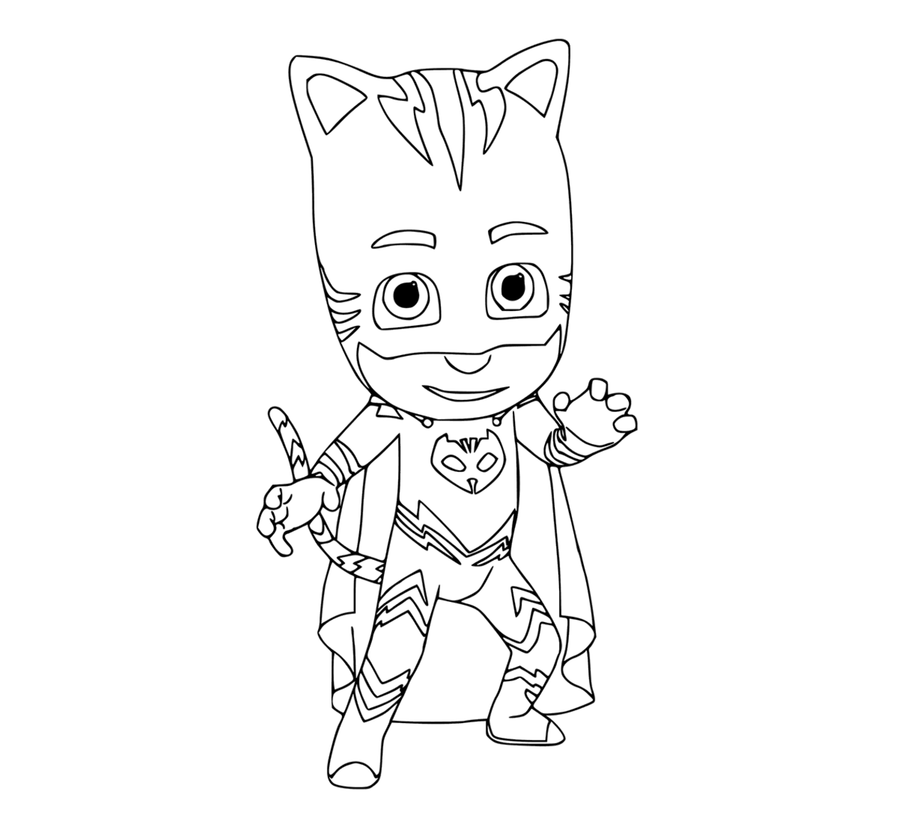 PJ Masks coloring pages to download and print for free | Pj Masks ...