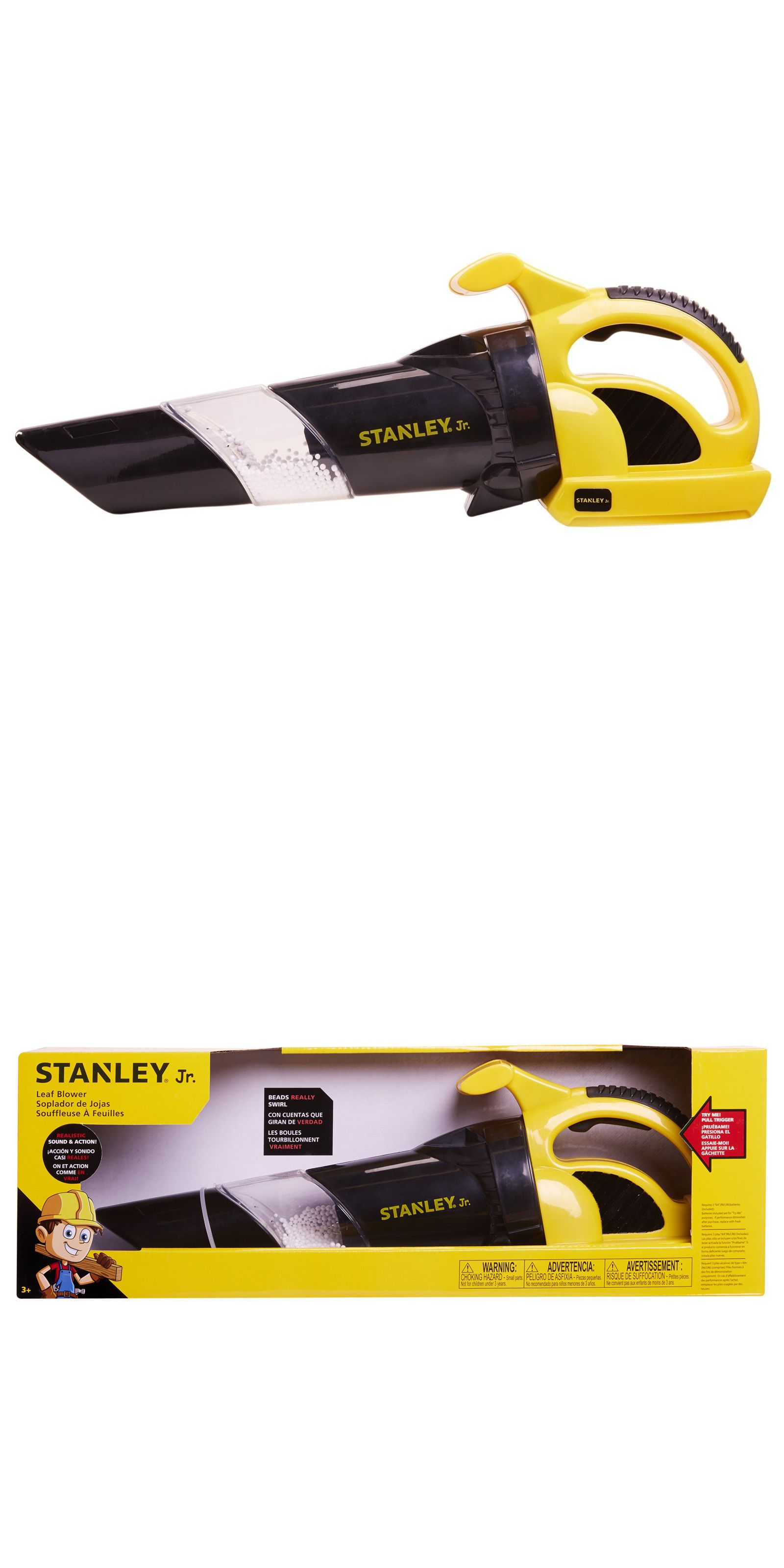 Peachy Tool Sets 158747 Stanley Jr Leaf Blower Workshop Tools Toys Gamerscity Chair Design For Home Gamerscityorg