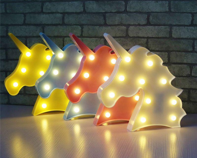Badezimmerlampe led ~ Unicorn head led night light php  trendylandy