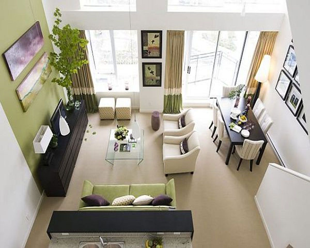 Easy How To Decorate A Living Room Living Room Dining Room Combo Small Living Room Layout Small Living Room Design