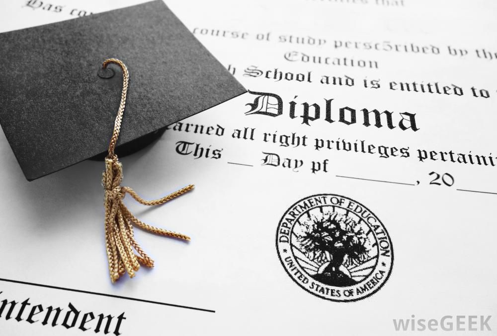 The minimum educational requirements are usually a high