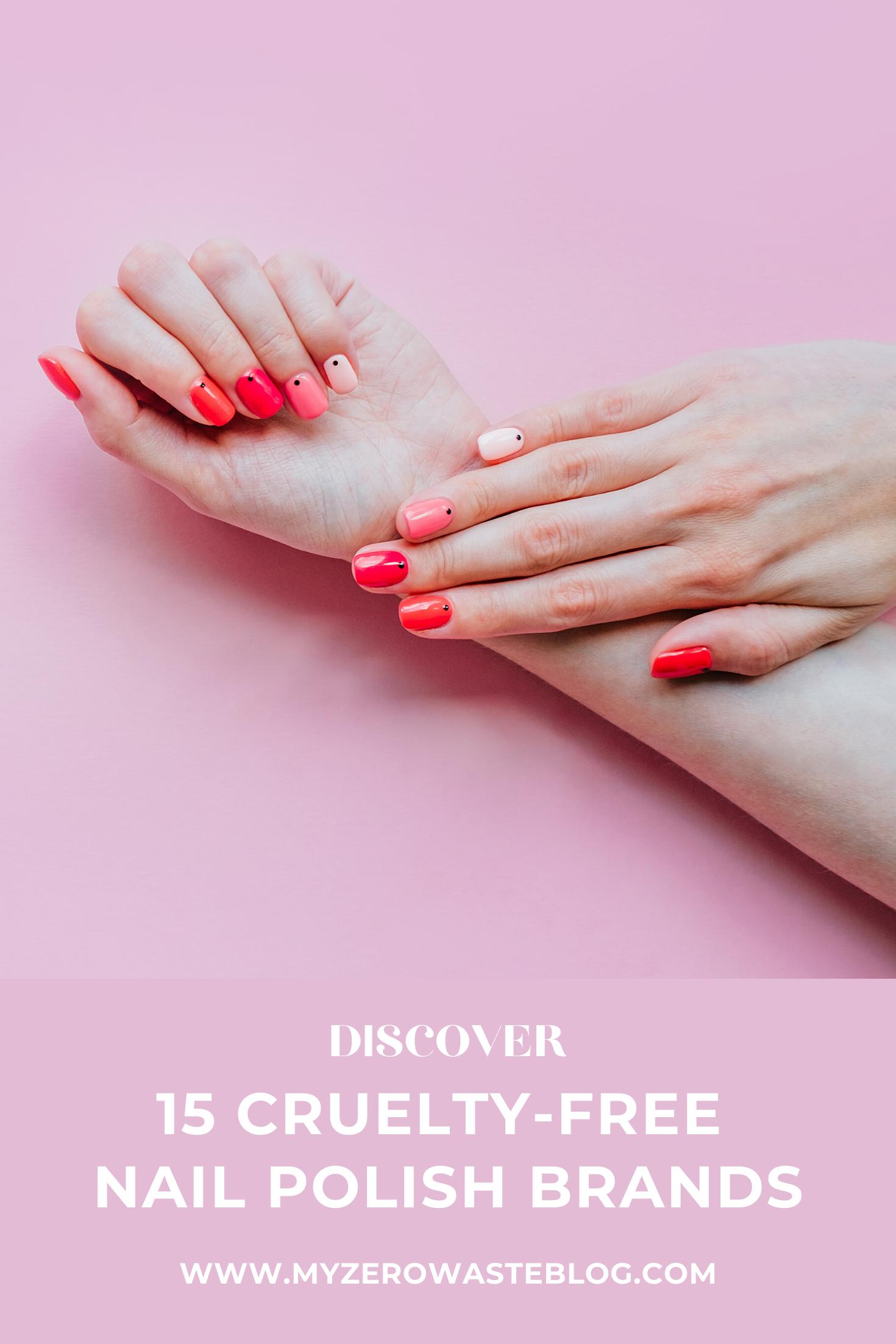 15 CrueltyFree Nail Polish Brands in 2020 Cruelty free