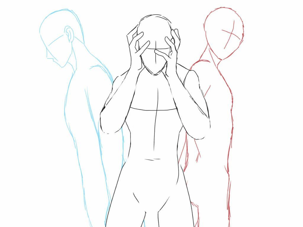 Group Body Pose By Halo91 On Deviantart Body Bodyartanatomy Deviantart Group Halo91 P In 2020 Art Reference Poses Art Reference Art Reference Photos