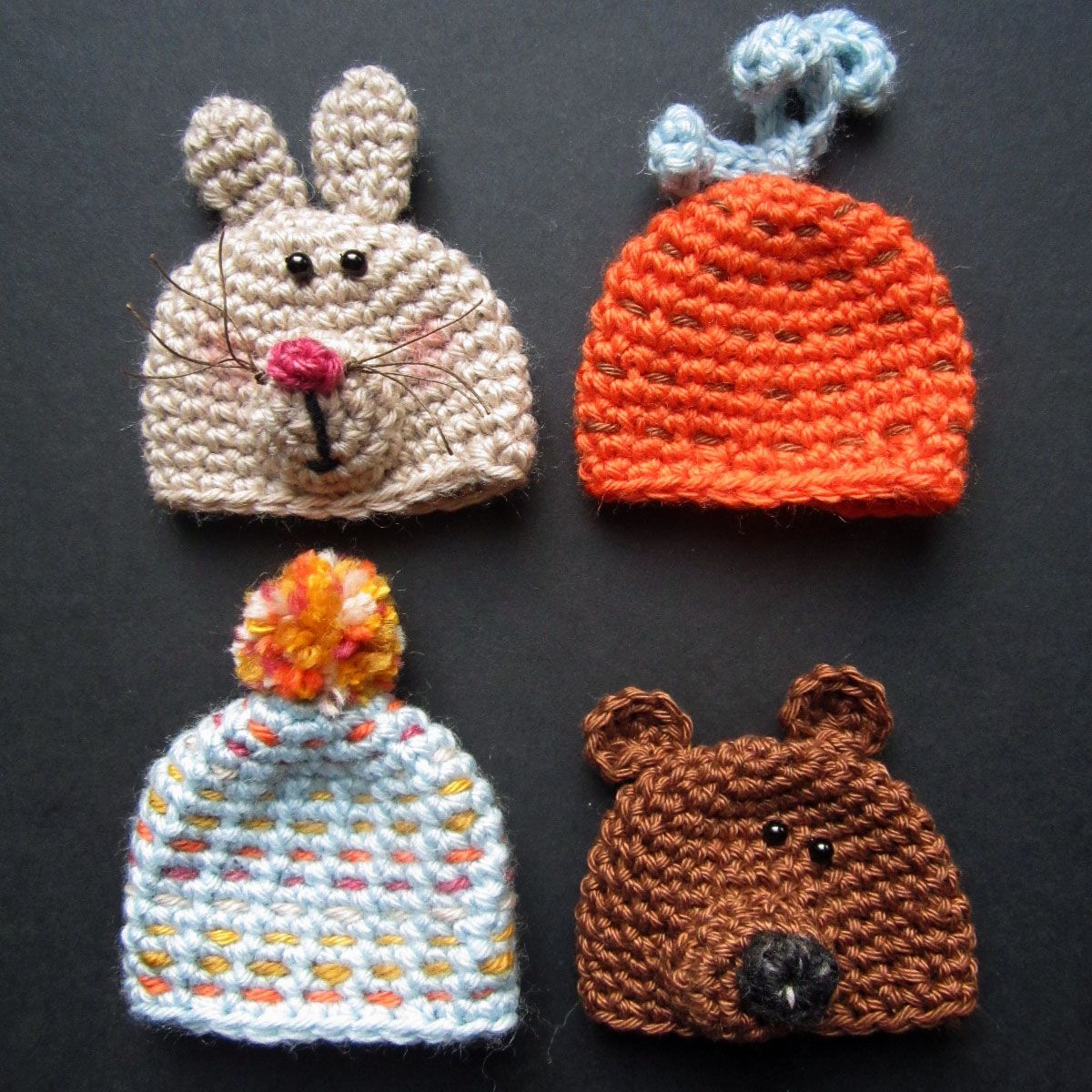 Im turning yarn that turned out to be a mistake into little hats im turning yarn that turned out to be a mistake into little hats for the big knit innocent pop them on their smoothies and from every one sold goes to age bankloansurffo Image collections