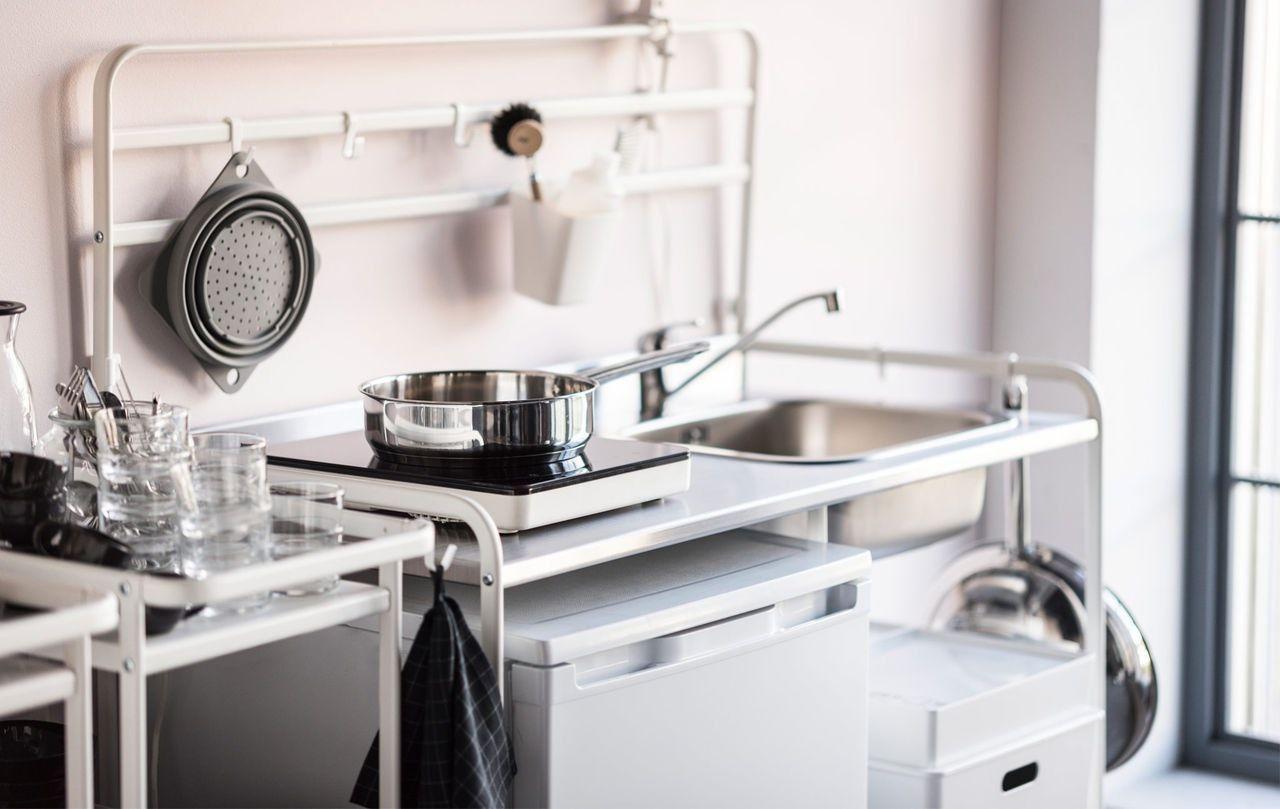 an honest review of ikea s mini sink situation basement bar ideas rh pinterest com