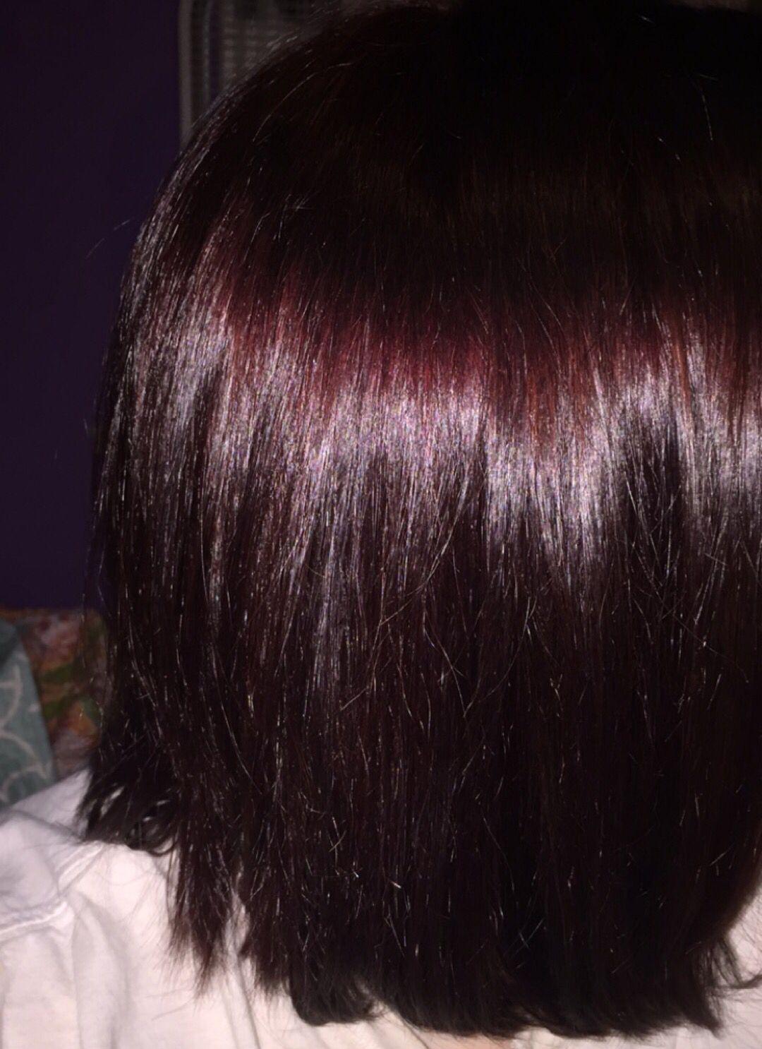 Merlot hair color - Hair Color Ideas L Dark Red Mixed With A Dark Merlot