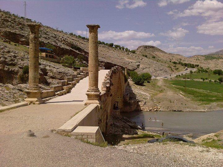 Adıyaman'da Cendere Çayı üzerinde yer alan ve hâlen kullanılmakta olan Cendere Köprüsü…