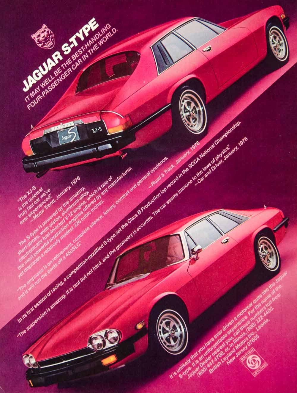 1977 Ad Jaguar Xj S Type 2 Door Coupe Grand Tourer Luxury 5 3l V12 Engine Ycd9 Jaguar Xj Jaguar Car Jaguar