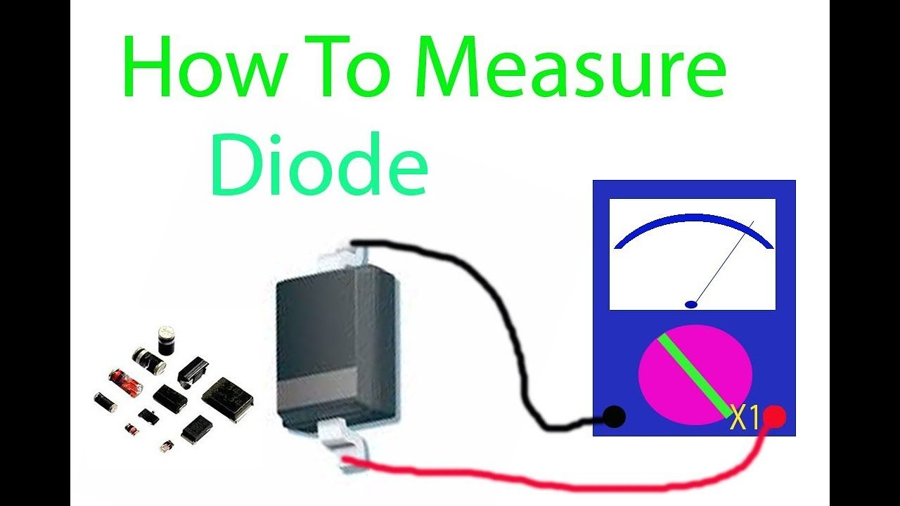 How To Measure Diode Speak Khmer Ow Measurements Electronic