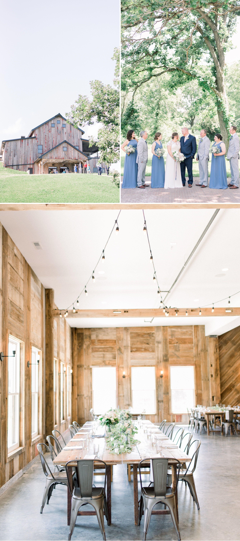 Wedding At Rapid Creek Cidery Iowa Photographer Blue Floor Length Bridesmaids Dresses Dog Ring Bearer Color Scheme Ideas Gigi