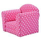 #1: Costzon Kids Sofa Armrest Chair Couch Children Living Room Toddler Furniture (pink)
