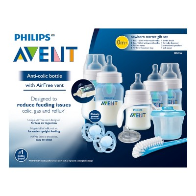 2caeb421a38 Philips Avent Baby Bottle Gift Set - Blue