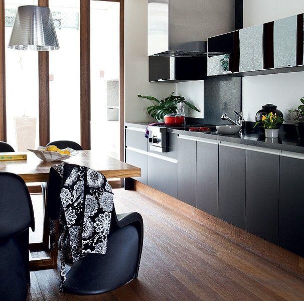 Espaço gourmet: 12 projetos de varandas e cozinhas...