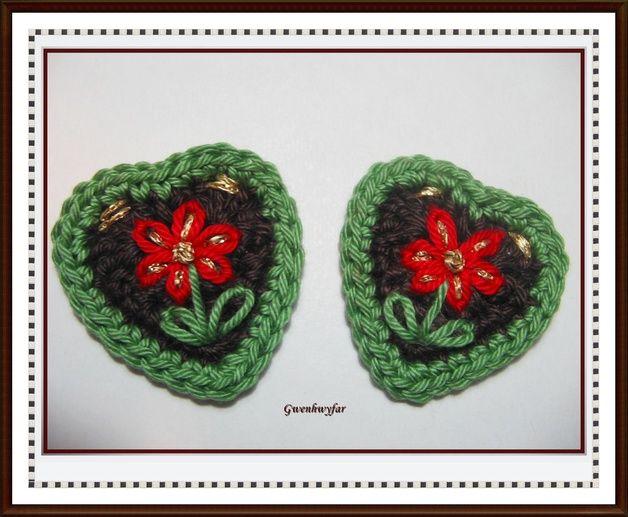 2 schöne Herzen | schöne Herzen, Lebkuchenherzen und Rot- grün