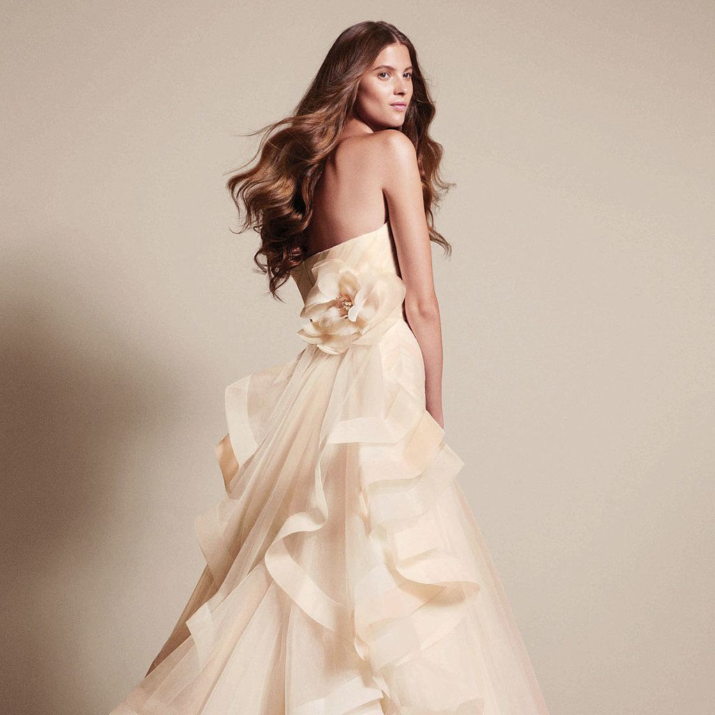 Tell your designer wedding dress, and then you say Vera Wang ...