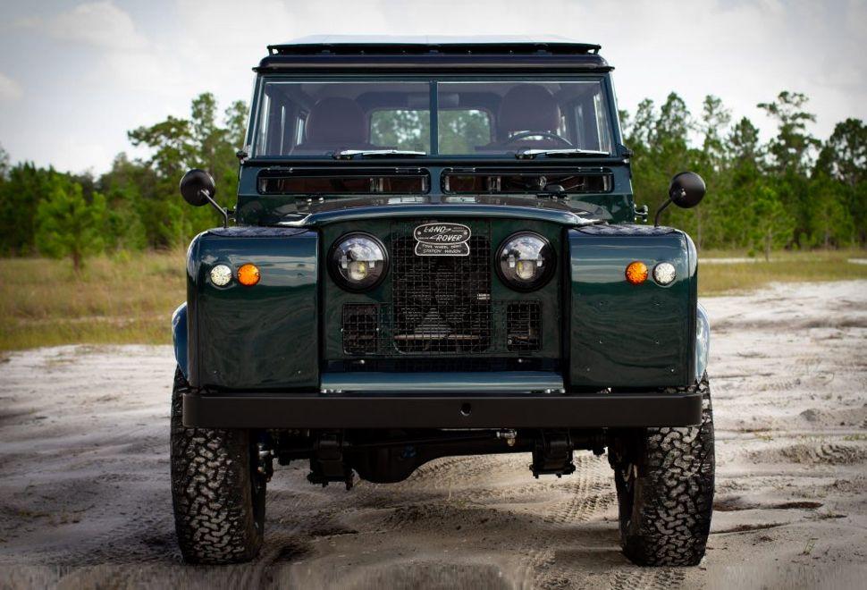 1967 Land Rover Series 2a Land Rover Series Land Rover Automotive Design