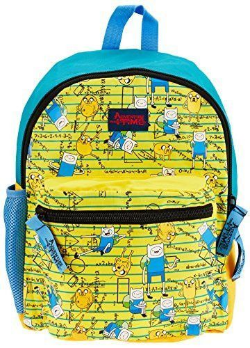 4c0eb7a7ea Adventure Time Mathemathical Adventure Jansport Style Yellow and Blue