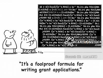 ItS A Foolproof Formula For Writing Grant Applications  Grant