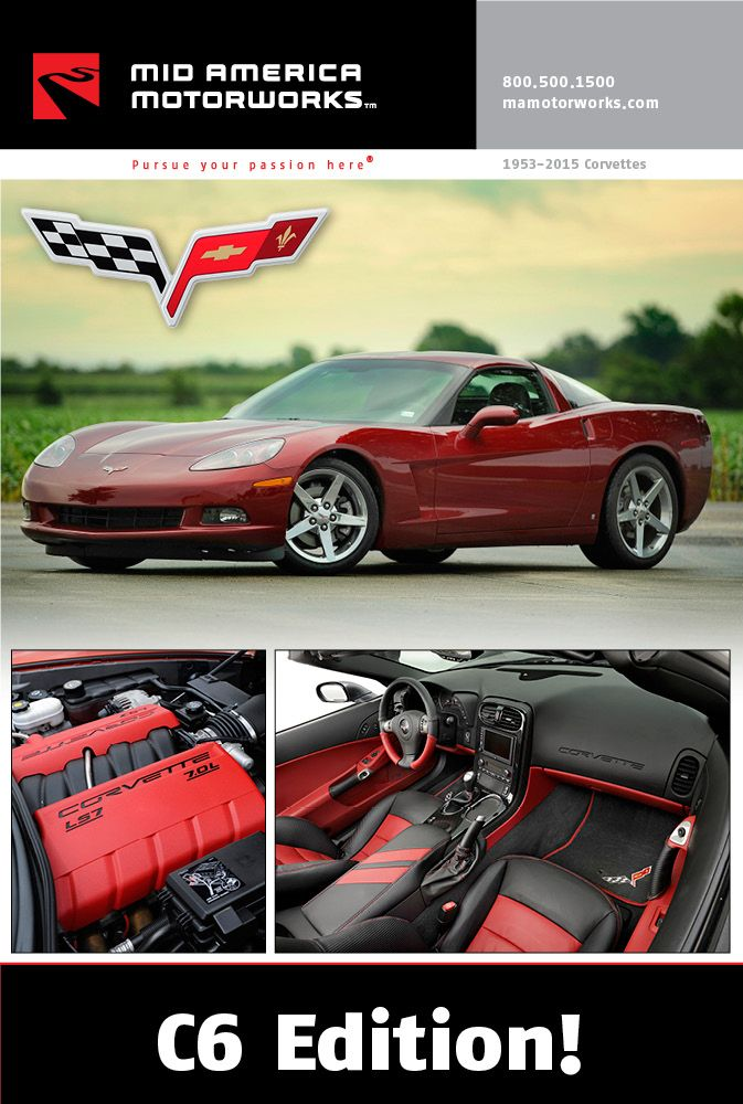 Corvette Click N Dynamic Catalog From Mid America Motorworks