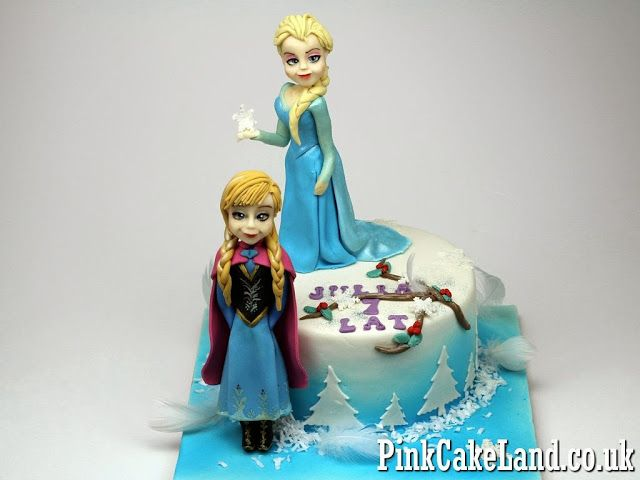 Childrens Birthday Cakes in London Frozen Birthday Cakes in London