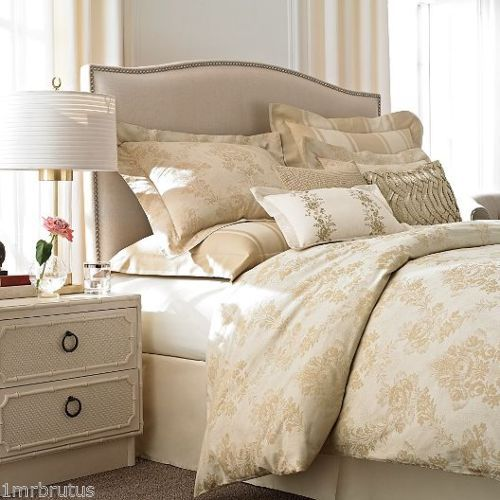 Wamsutta French Country Queen Comforter Set Beige Gold