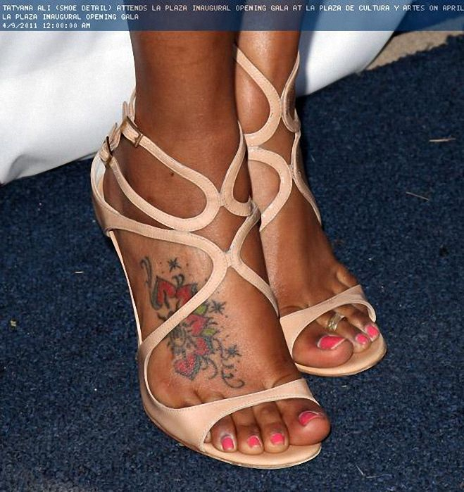 Tatyana Ali Feet