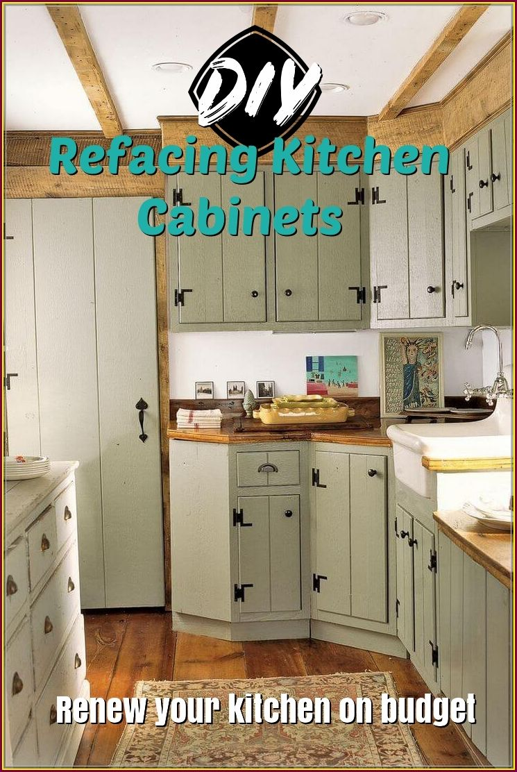 Refacing Kitchen Cabinets Diy To Change A New Look Refacing Kitchen Cabinets Diy Diy Kitchen Cabinets Kitchen Cabinets