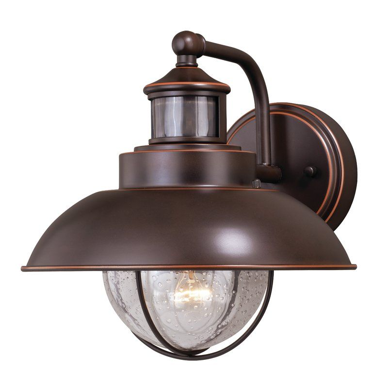 Archibald Dualux© Outdoor Barn Light with Motion Sensor in
