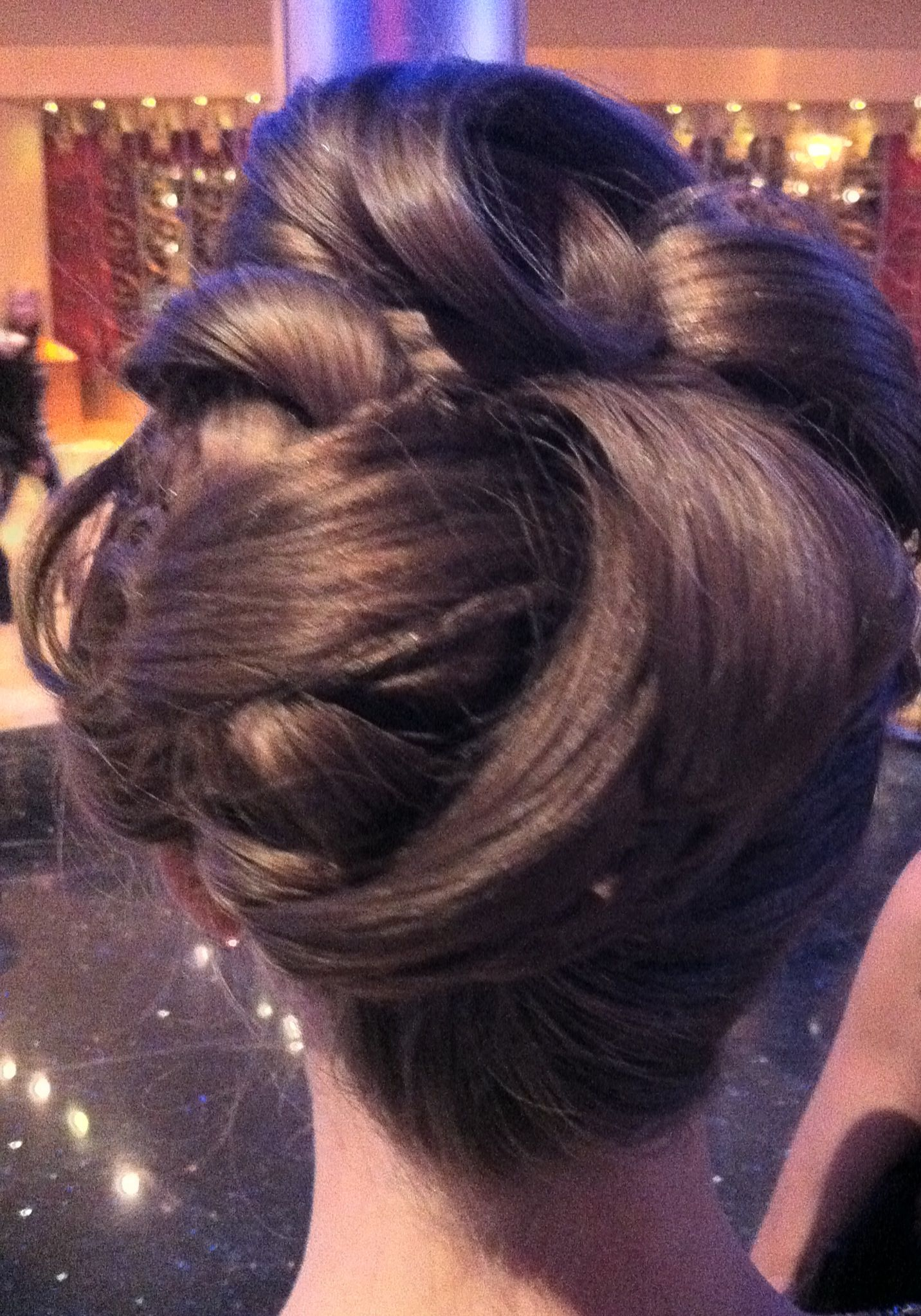 Amazing updo itus like a work of art beautiful beautify