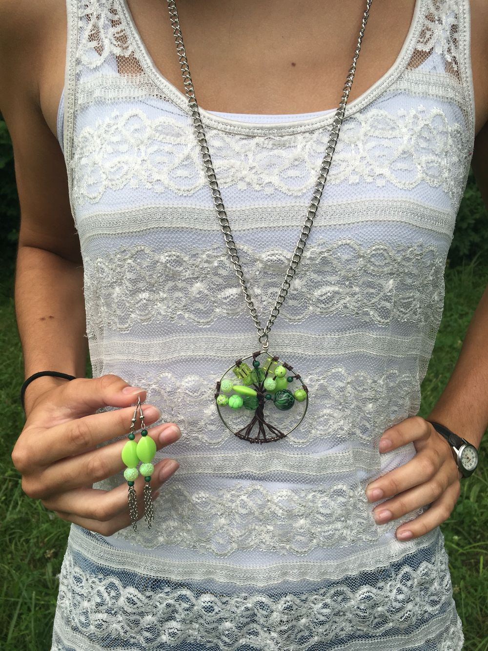 handmade lifetree necklace sets lightweight necklace with