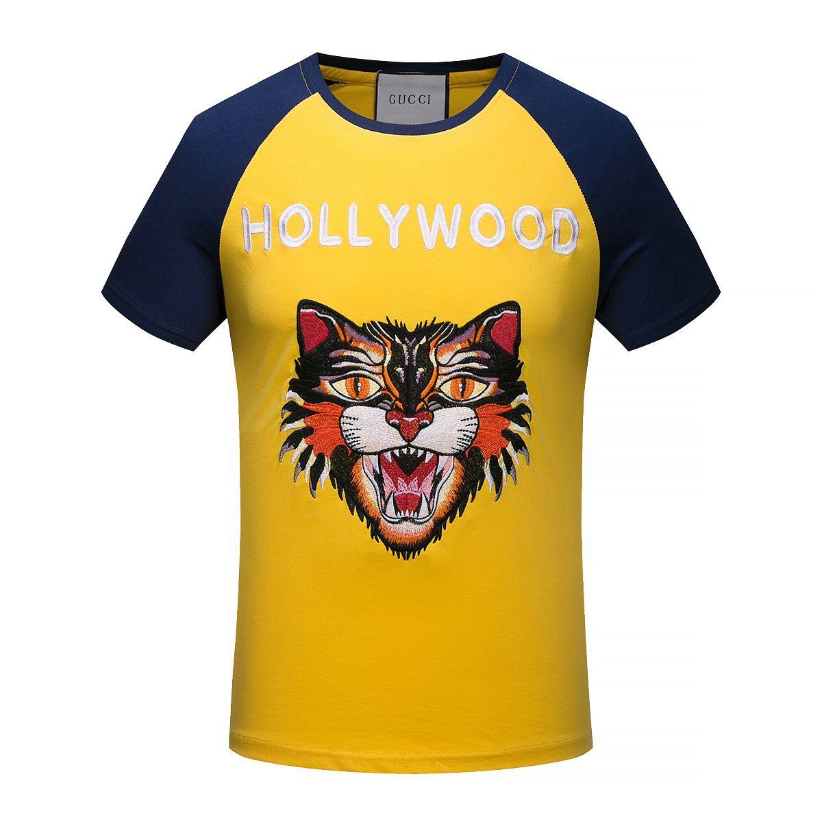 6a8bf1bca Replica GUCCI T Shirt 2018 For Men Size M-XXXL ID: ID:37837 | 2018 ...