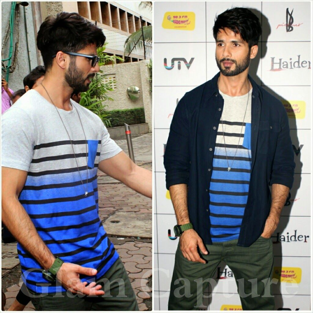 Shahid Kapoor New Hairstyle For His New Movie Shaandar Deepika