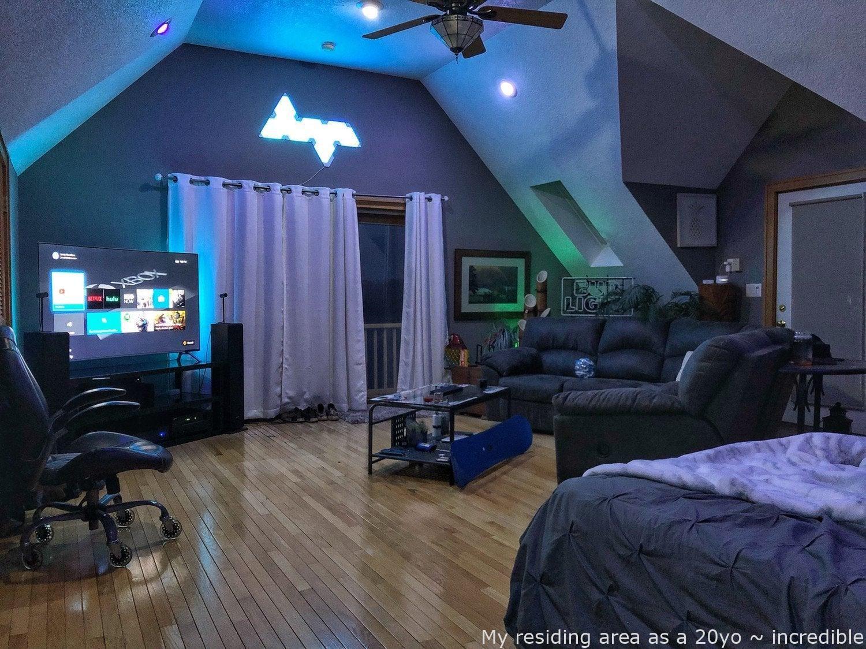 Malelivingspace My Residing Room As A 20yo Radical Diy Man