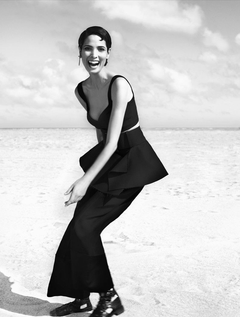 Hanaa Ben Abdesslem by Miguel Reveriego for Vogue Spain March 2012