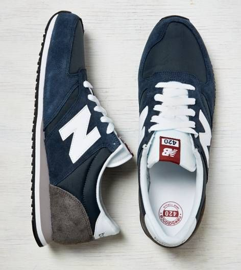 Navy New Balance 420 Running Sneaker