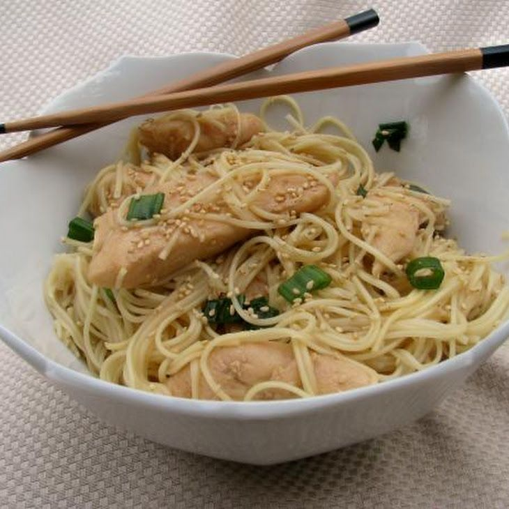 Teriyaki Chicken Noodle Salad