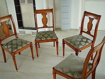 4 schöne Stühle,Warrings Stilmöbel,Kirschbaum, Top Zustandsparen25 ...