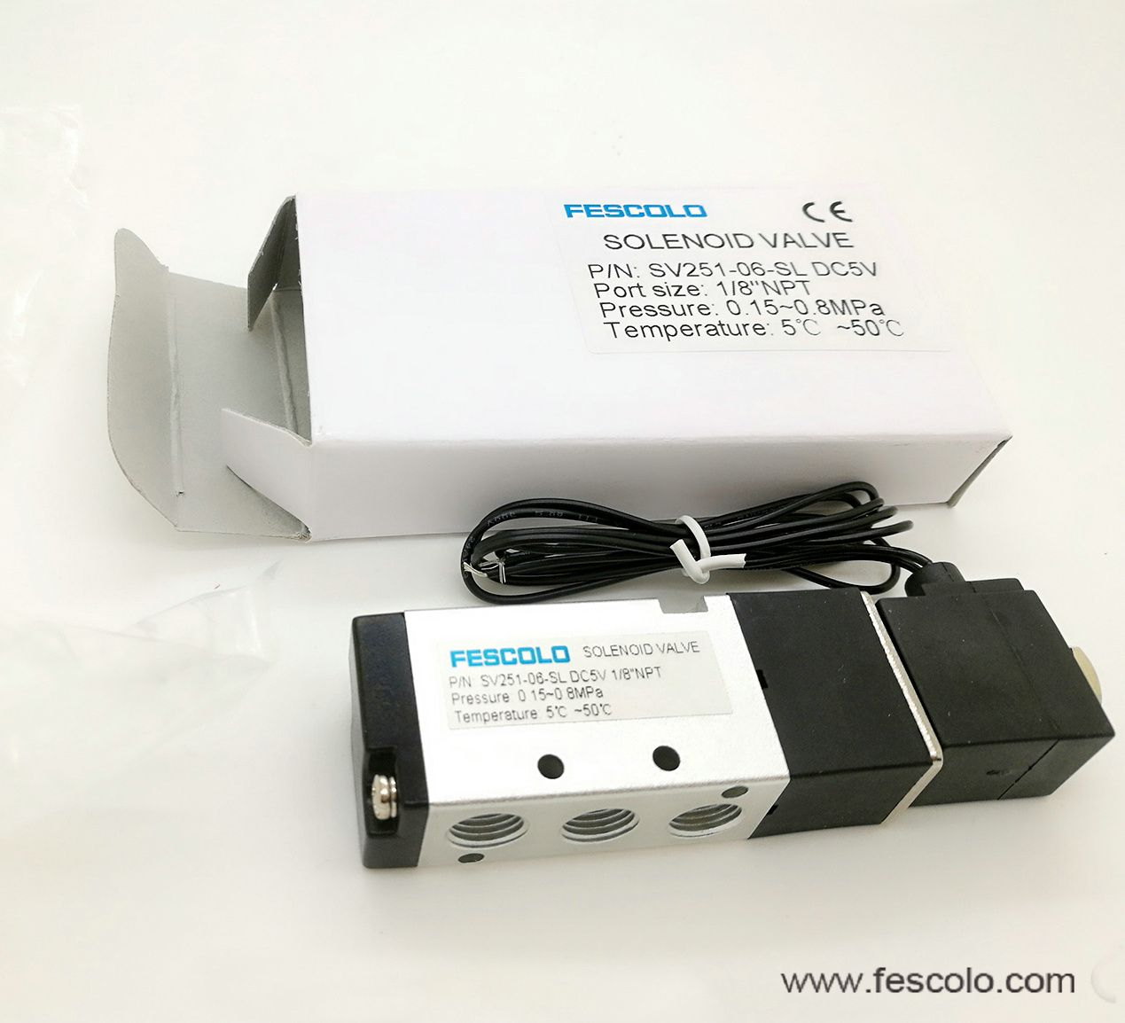 SolenoidValve The protection grade for this series