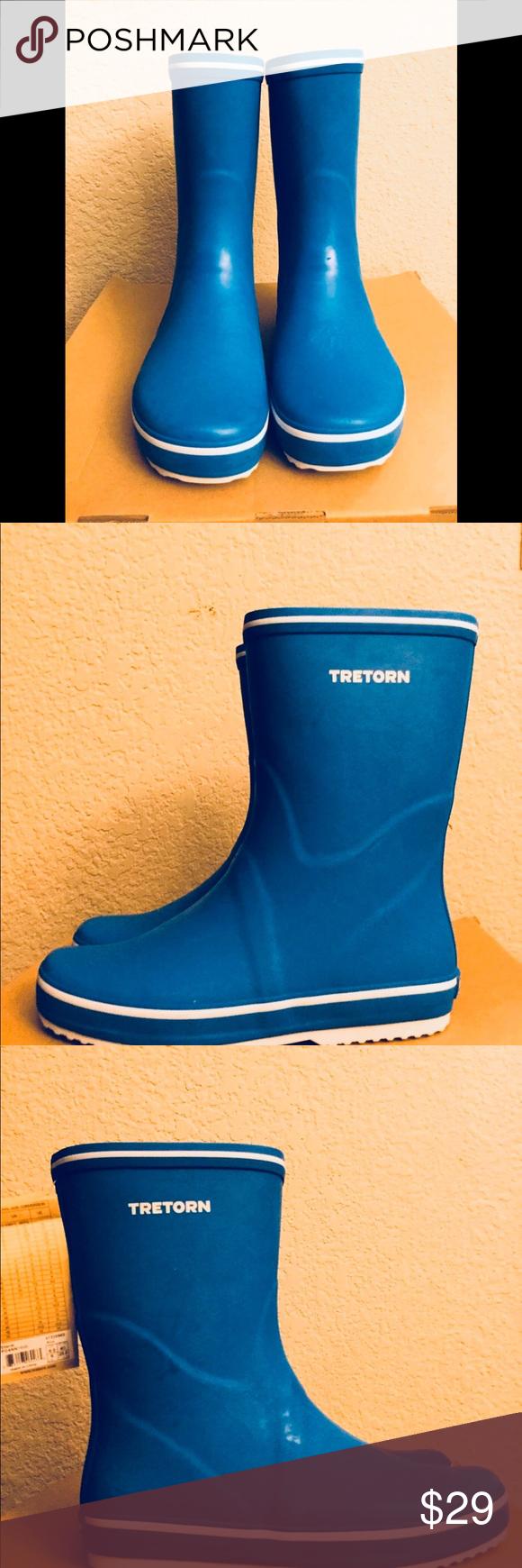 Tretorn Rain Boots For Women Rubber Boots New Rain Boots
