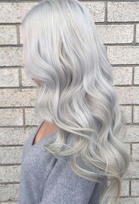 Silver Gray Hair Color Ideas 10 Spring Trends  Fashionsfield