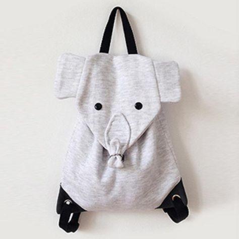 Oh WOW! Nähanleitung für einen Kinderrucksack-Elefanten | Nähideen ...