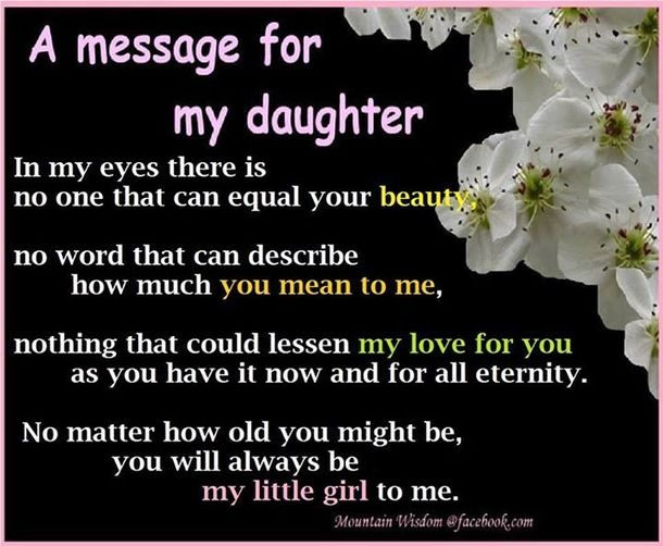 Best Mother And Daughter Quotes Beautiful Daughter Quotesquotes For My Daughteri Love
