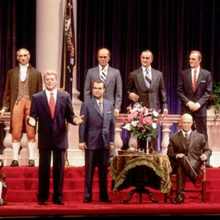 Walt Disney Hall Of Presidents | ... is the only president who voices himself at the hall of presidents