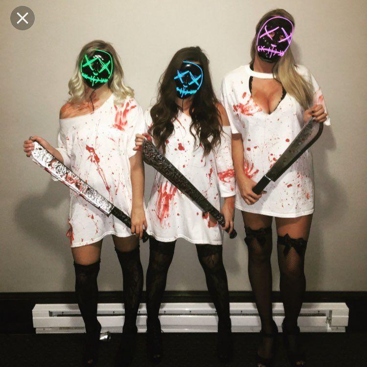 Diy The Purge Costume Halloween Pinterest Halloween Costumes