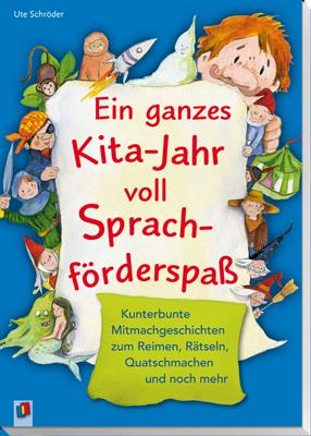 Ein Ganzes Kita Jahr Voll Sprachforderspass Mitmachgeschichten Sprachentwicklung Kind Sprachbildung