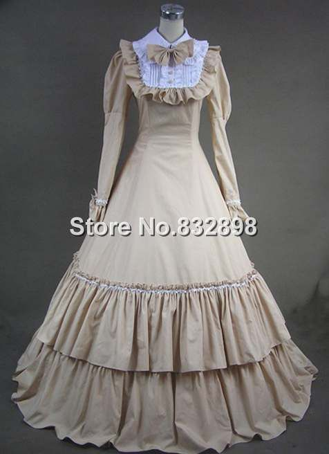 Victorian style dresses cheap
