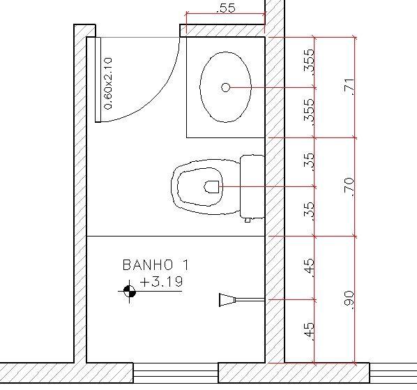 Medidas Banheiro Planta Baixa : Plantas de apartamentos pequenos que foram reformados