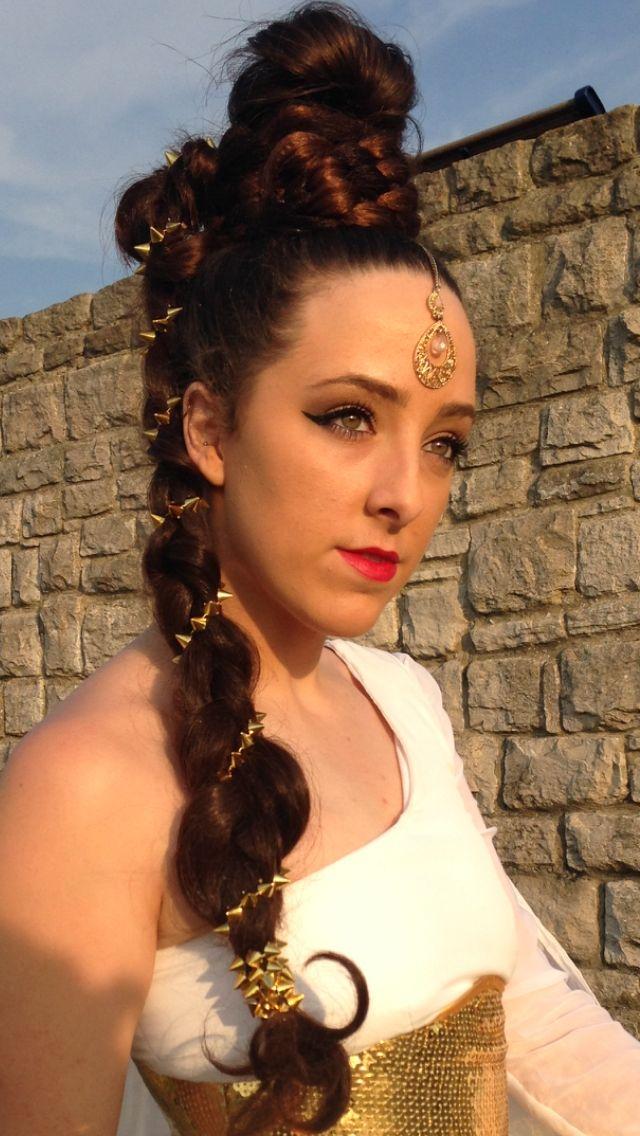 Greek Goddess hairstyle | Greek goddess hairstyles, Hair ...