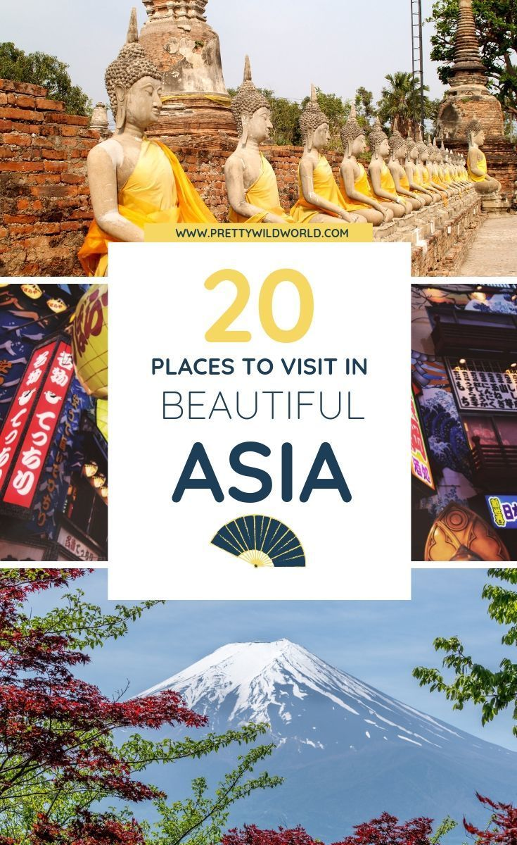 Top 20 BEST Cities to Visit in Asia in 2020