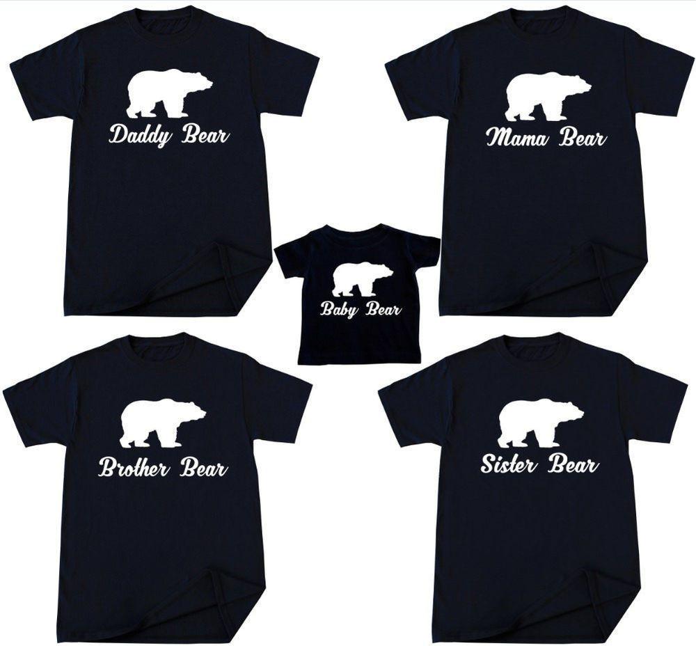 09c493b0a Brother Bear, Daddy Bear, Baby Clothes Sale, Bear T Shirt, Family Christmas